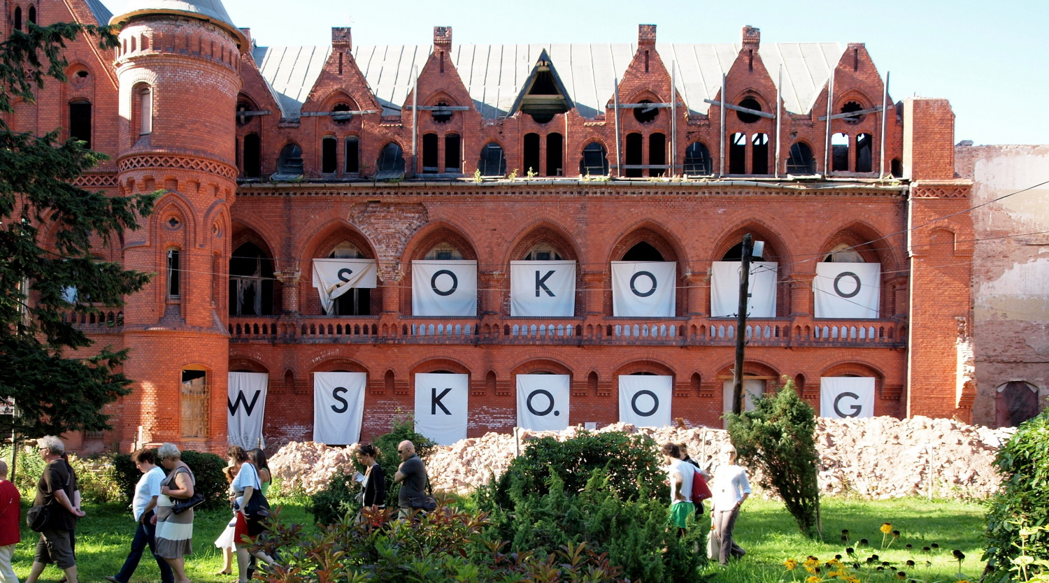 Sokolovsko, former sanatorium - now a place for art, photograph by johnicon, VG-Bild-Kunst, Bonn