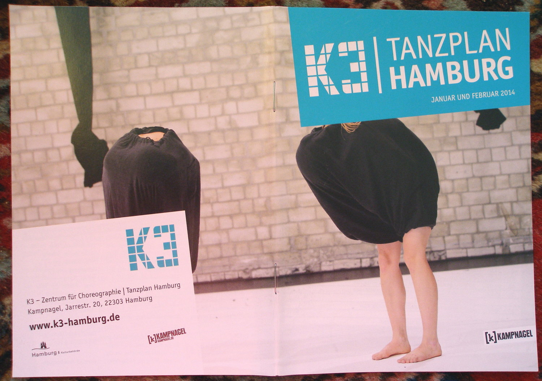 Umschlag K3-Programm Jan-Feb 2014, Foto: Florian Thiele