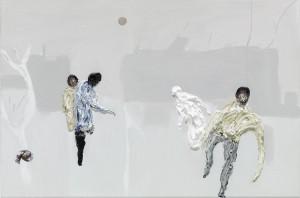 Clemens Krauss: Sick and Sane, 2014, Öl auf Leinwand, 300x198 cm, Foto: B. Borchardt